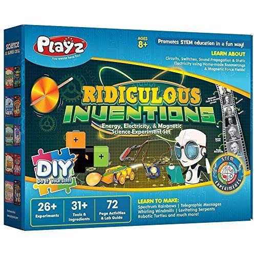 Ridiculous Inventions Experiment Kit