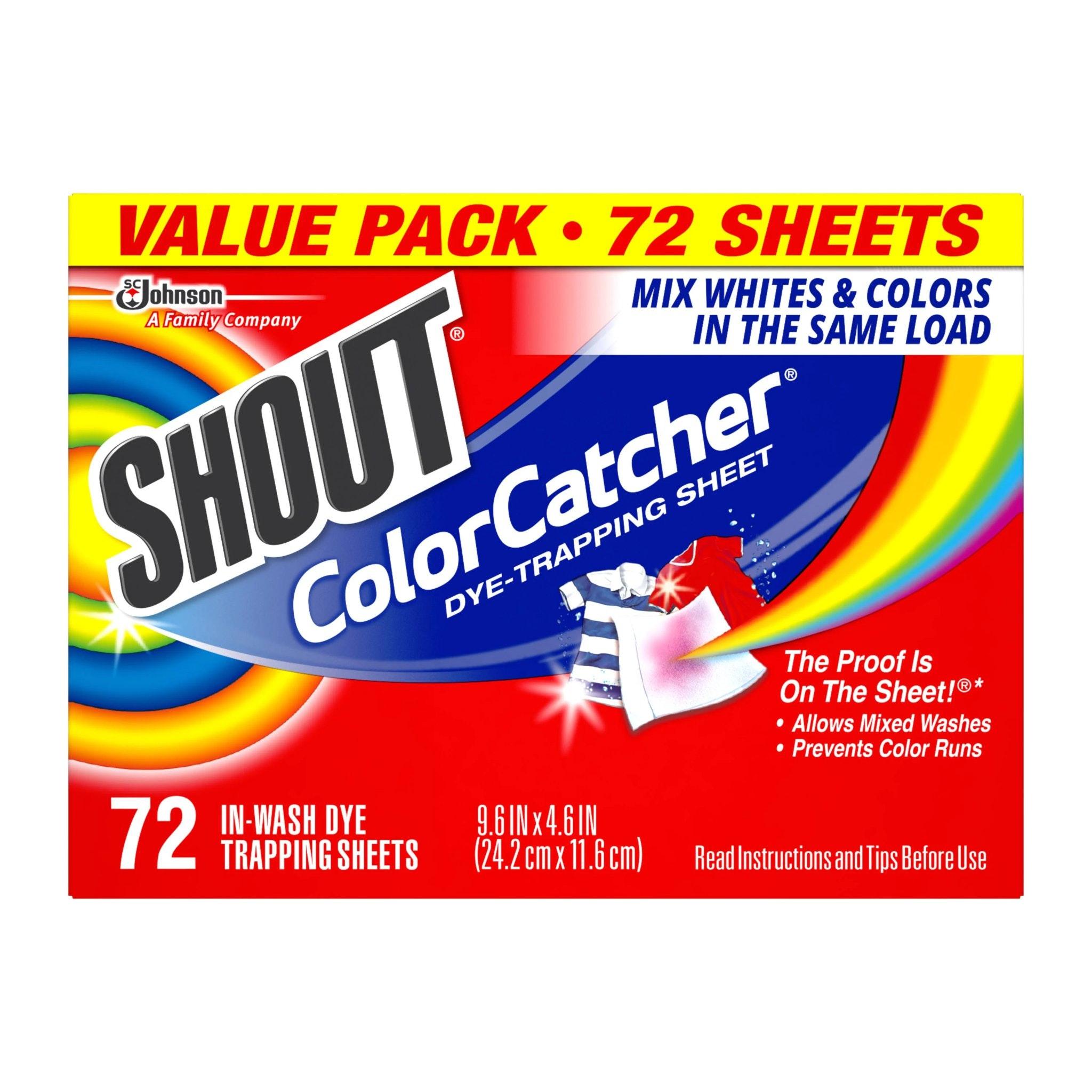 Shout Color Catcher Dryer Sheets