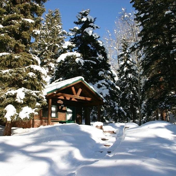 Sylvan Lake State Park Cabin