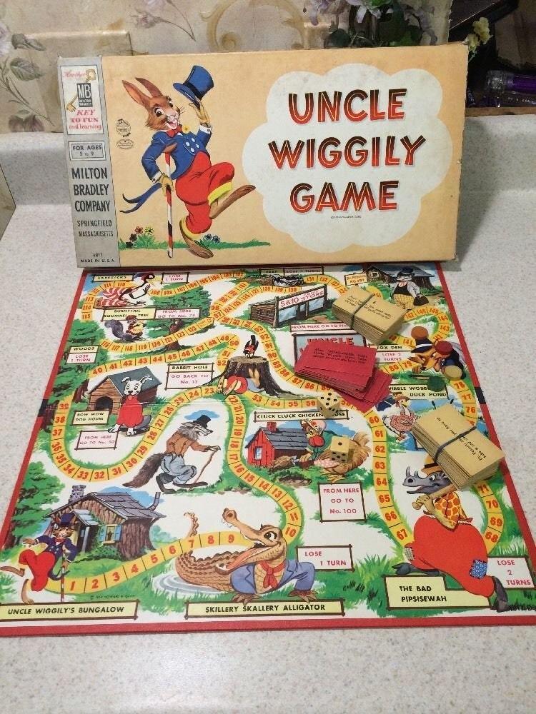 Uncle Wiggily Classic Board Game