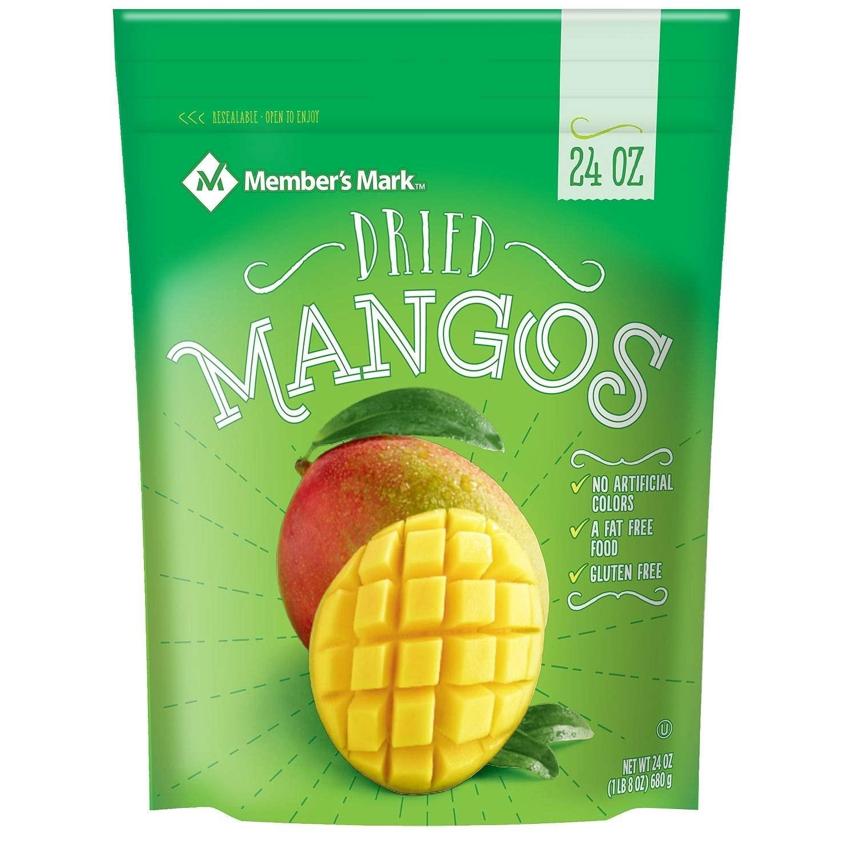 Member's Mark Dried Mangos