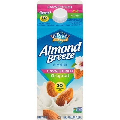 Almond Milk - Almond Breeze