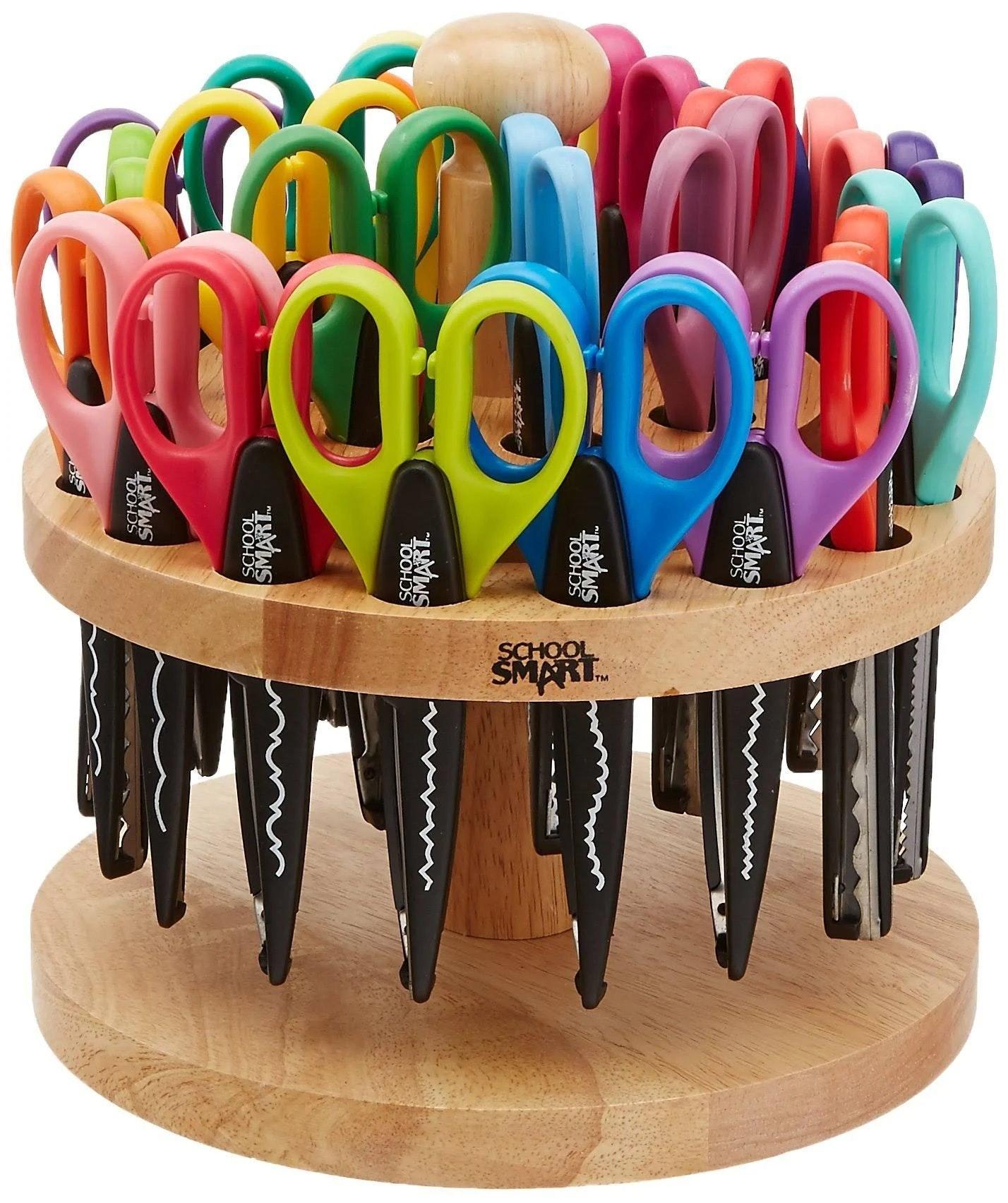 School Smart Paper Edger Scissors