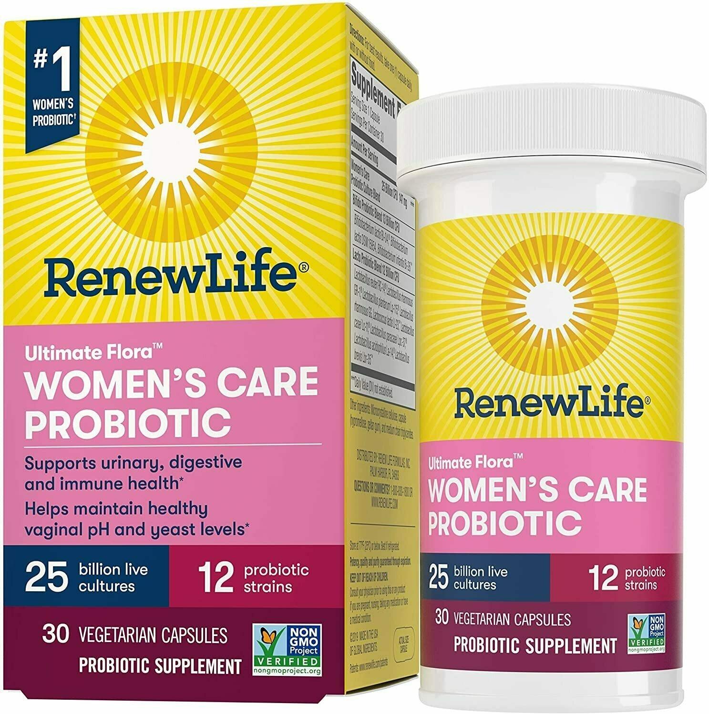 Renew Life Women's Daily Probiotics