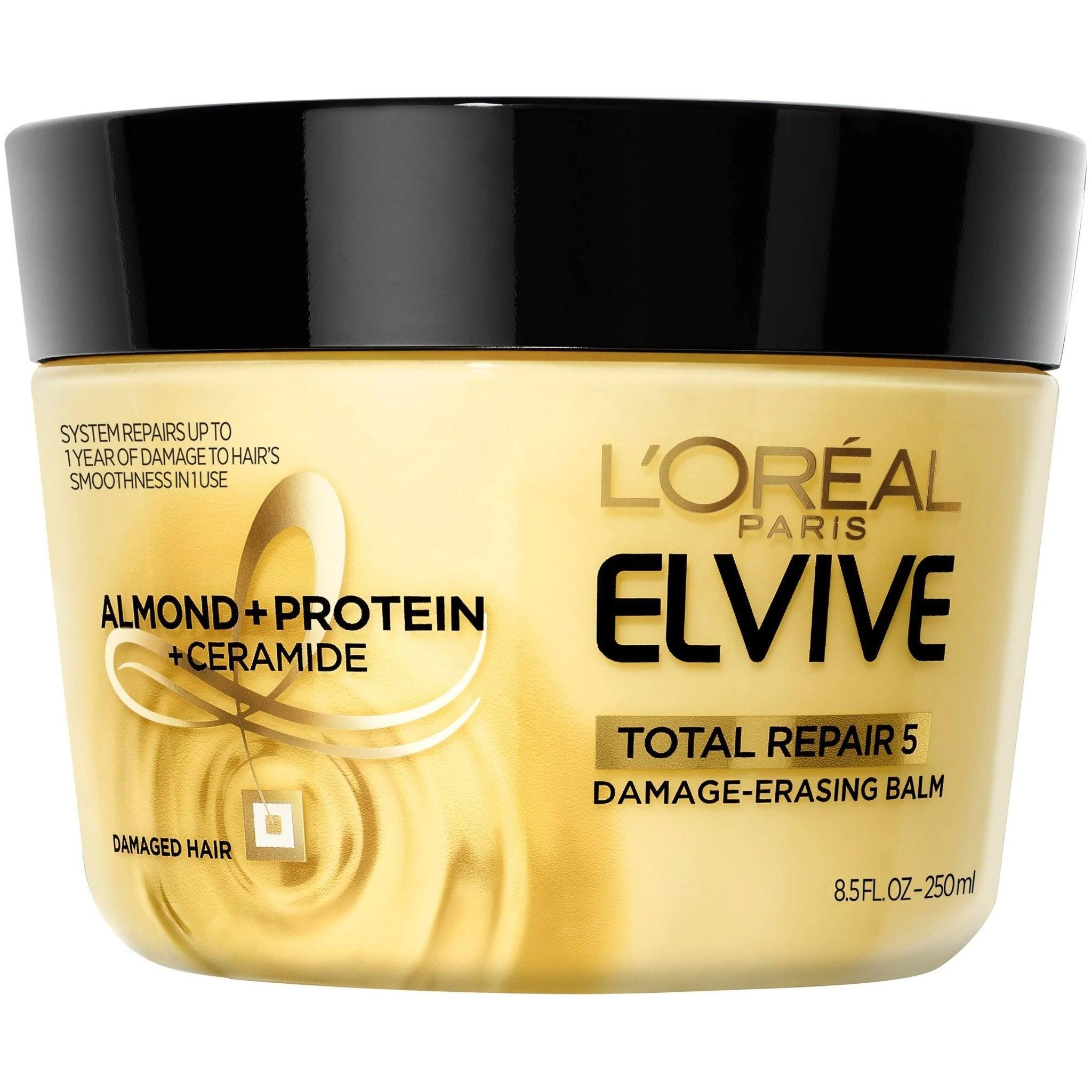 L'Oreal Paris Hair Care Elvive Total Repair 5 Damage Erasing Balm