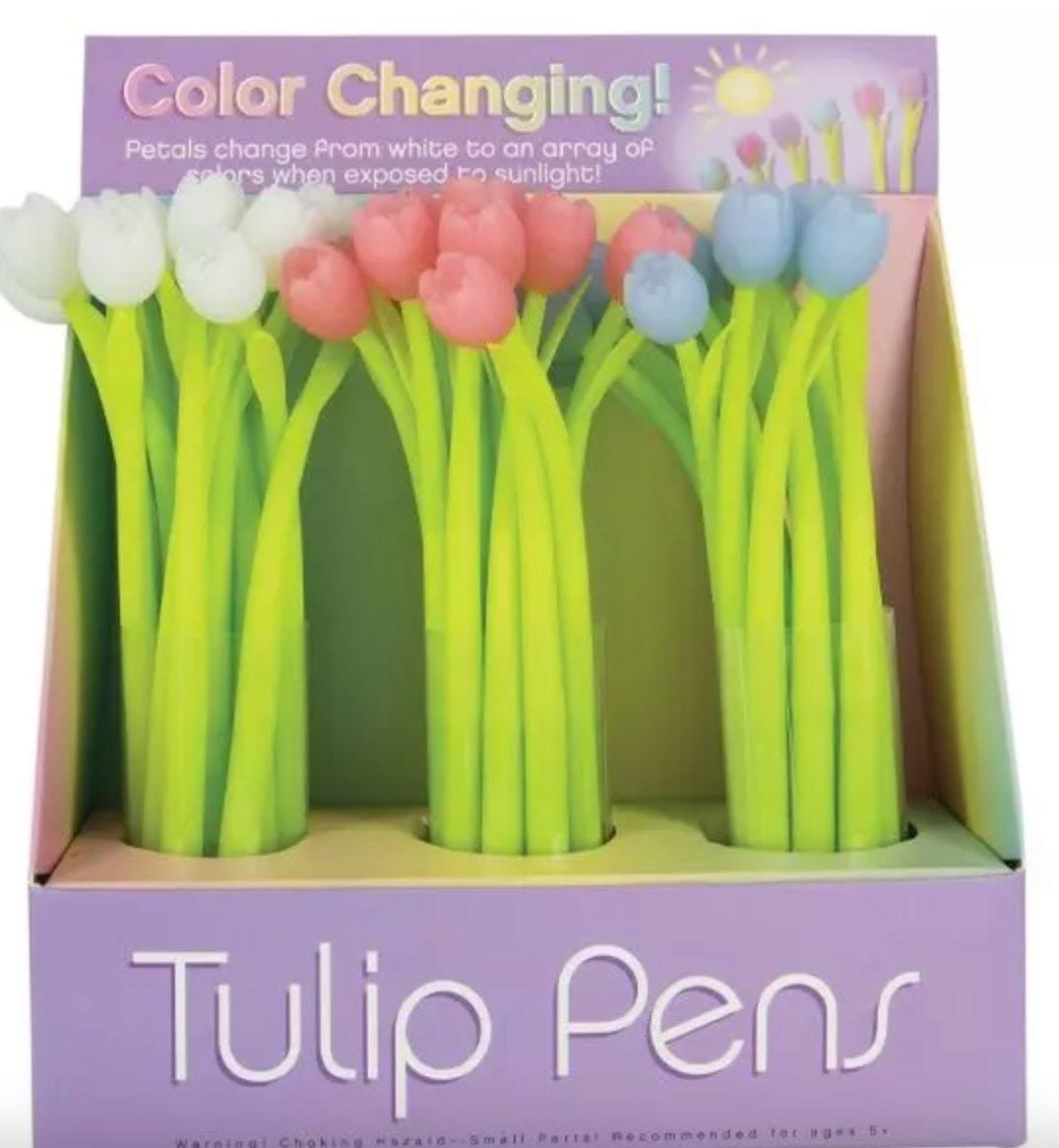 Color Changng Tulip Gel Pen