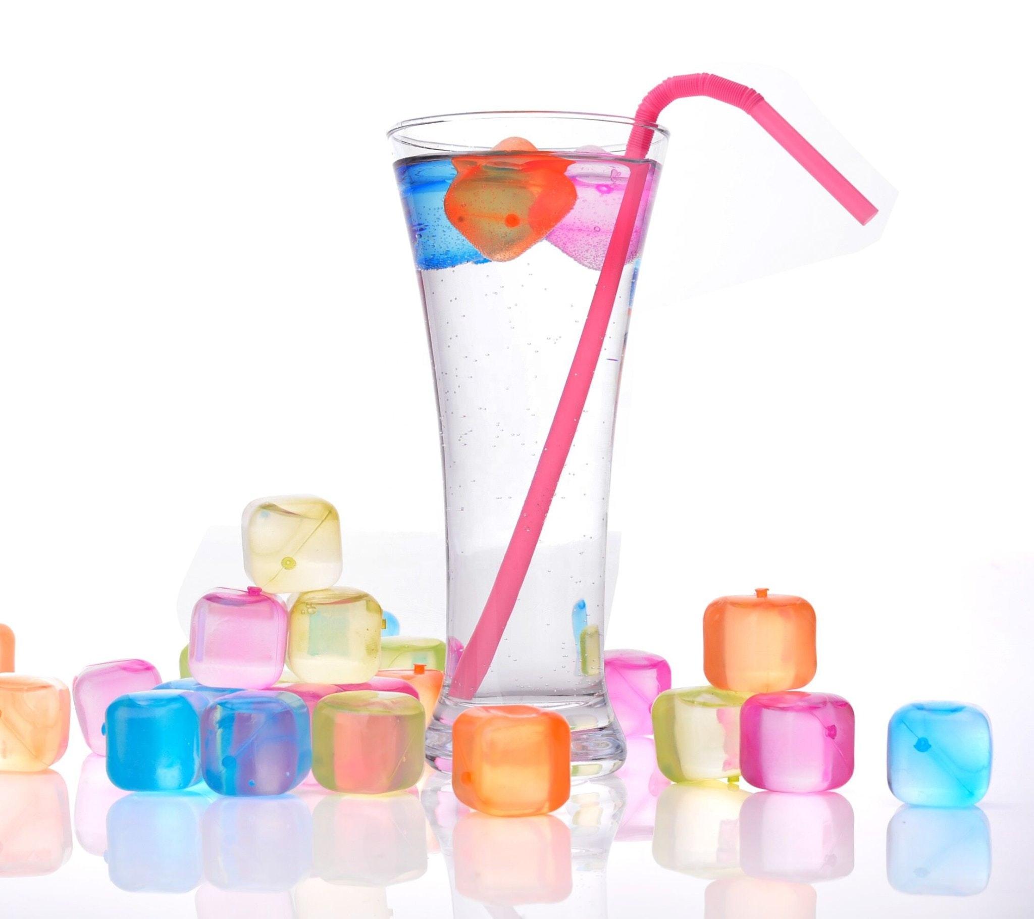 Destination Summer Reusable Ice Cubes
