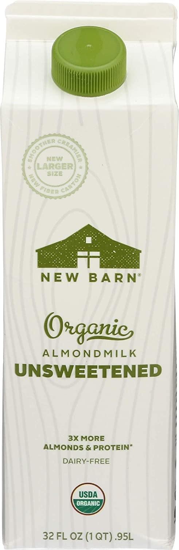New Barn Organics Barista Almond Milk