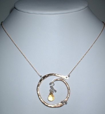 """Yedomi Jewelry- """"Circle of Life"""" Necklace"""