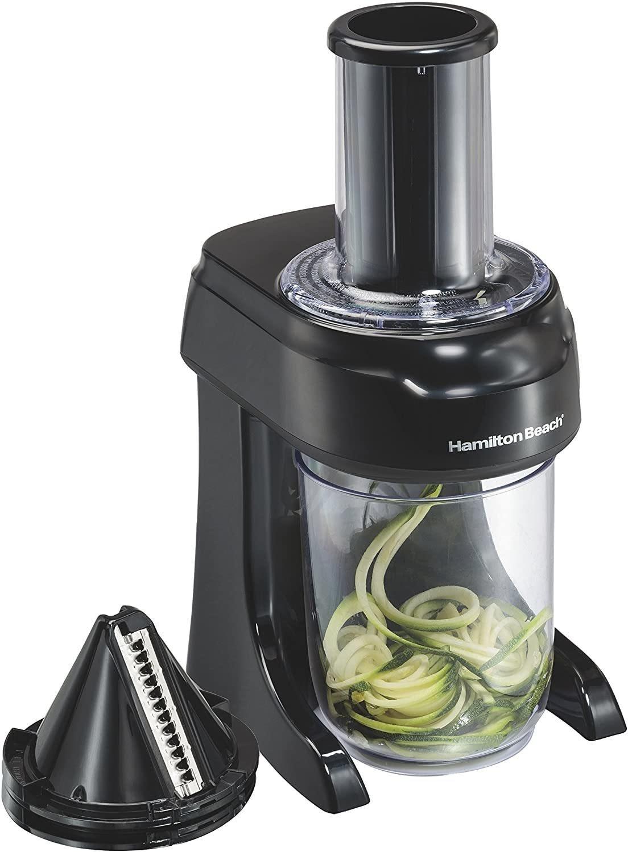 Hamilton Beach 3-In-1 Electric Vegetable Spiralizer & Slicer