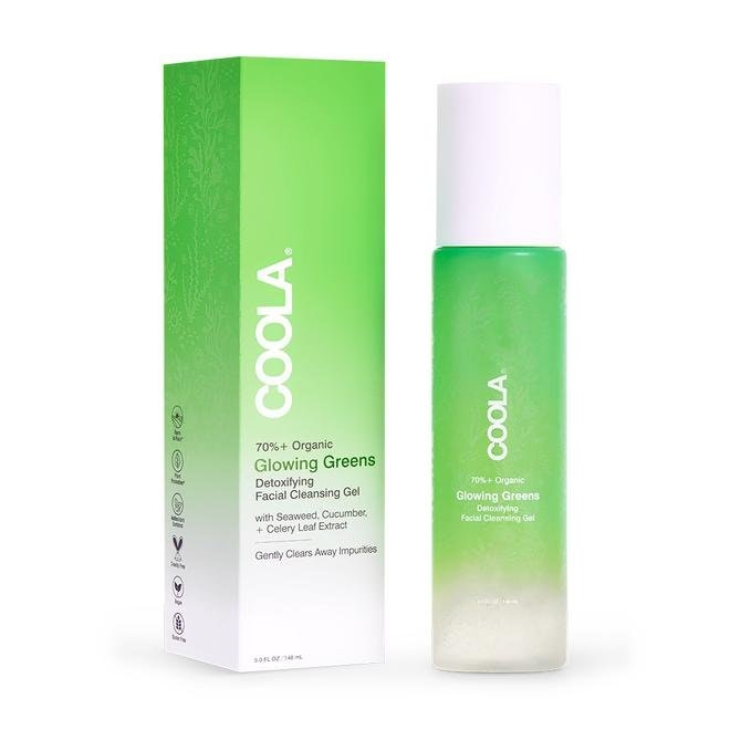 Coola Glowing Greens Cleansing Gel
