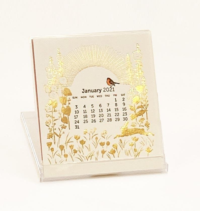 2021 Ilee Letterpress and Silkscreen Calendar