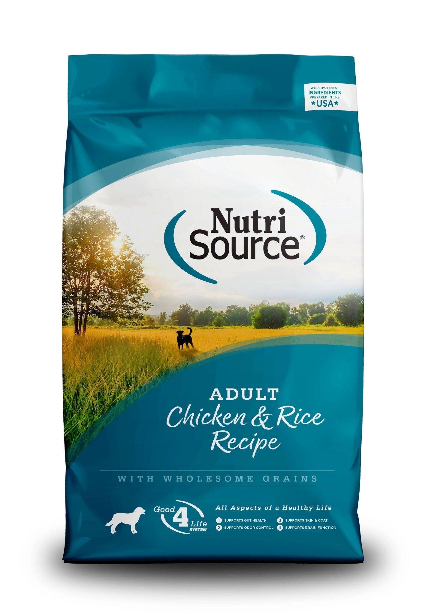 NutriSource Chicken & Rice Kibble
