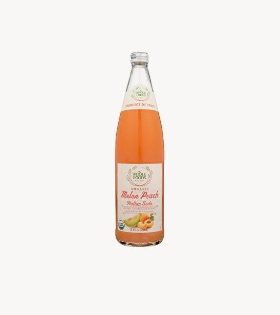 Whole Foods Market Organic Melon Peach Italian Soda