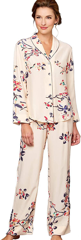 Julianna Rae Natalya Silk Pajamas