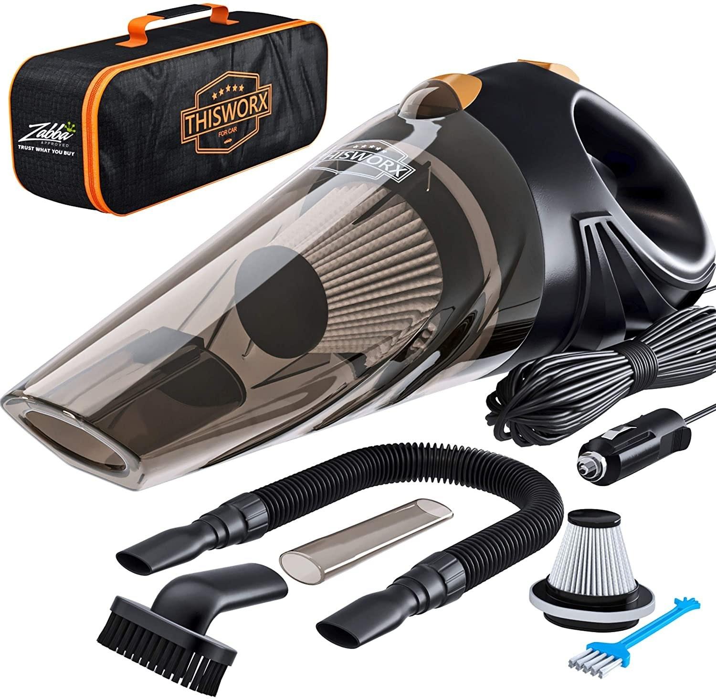 High Power Corded Handheld Car Vacuum