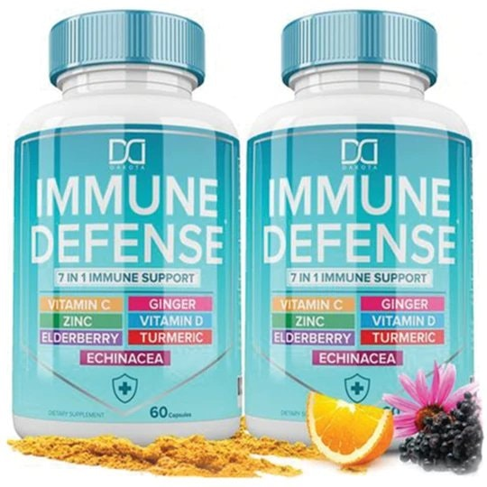 7 in 1 Immune System Booster Support by Dakota Store