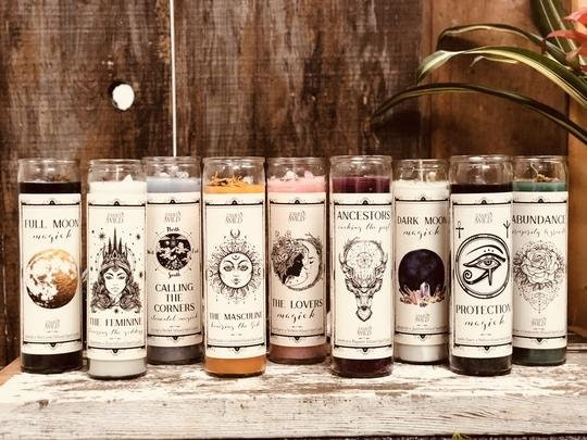 Tamed Wild Ancestors Spell Candle