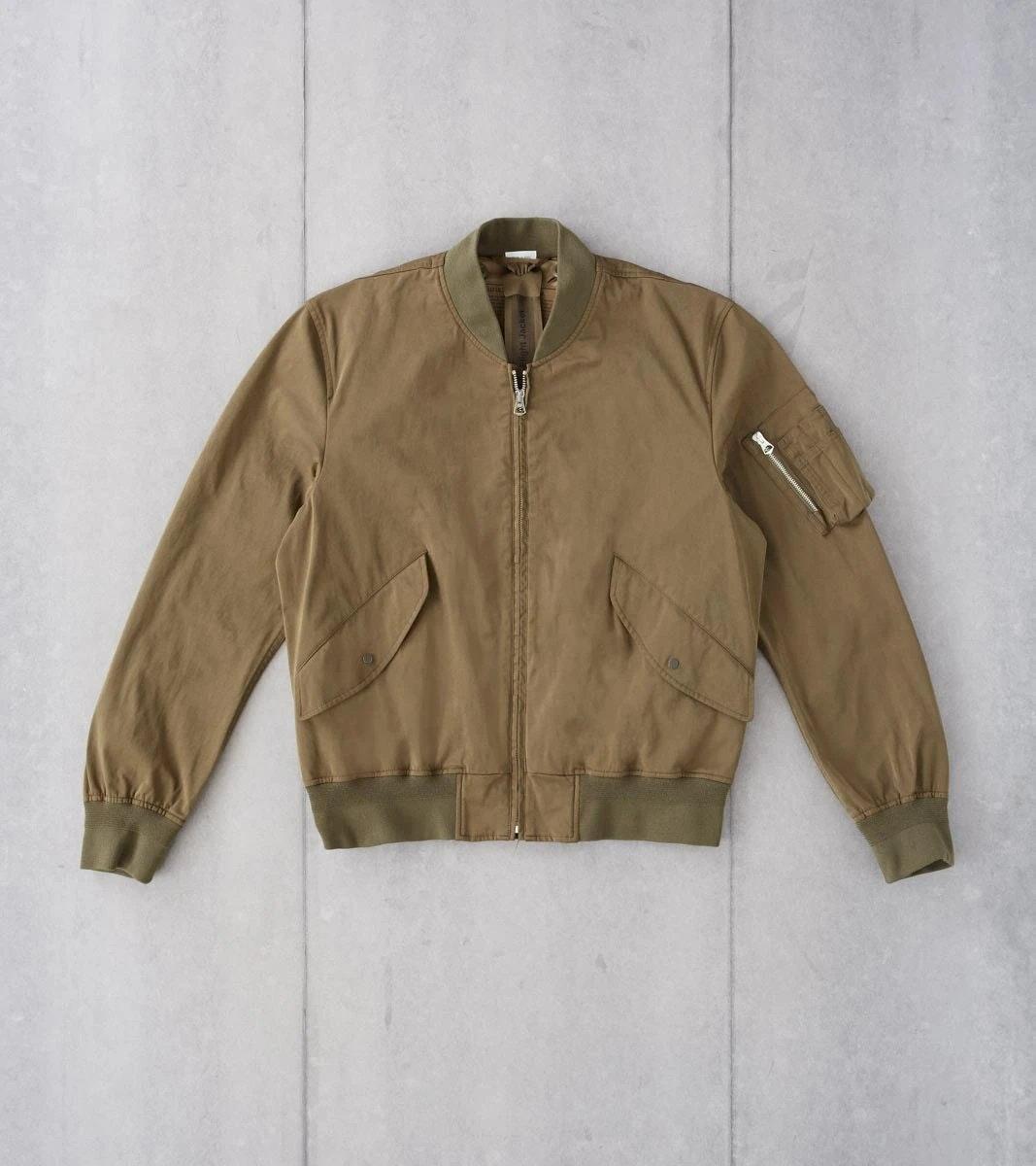 OJJ Flight Jacket - Olive