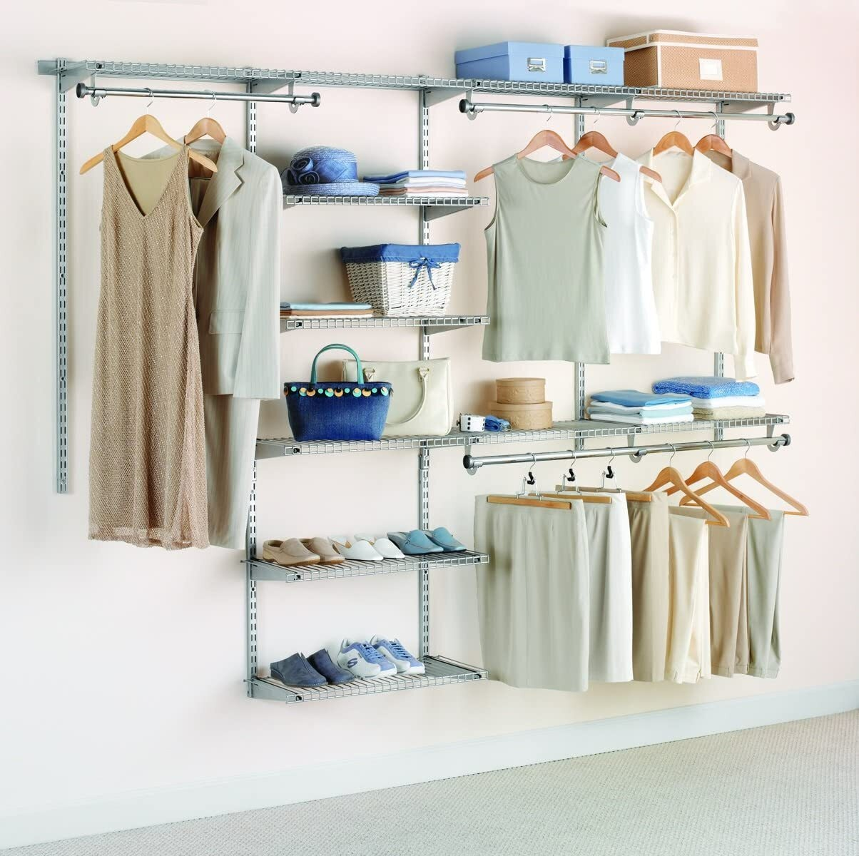 Rubbermaid Configurations Closet Organizer Kit