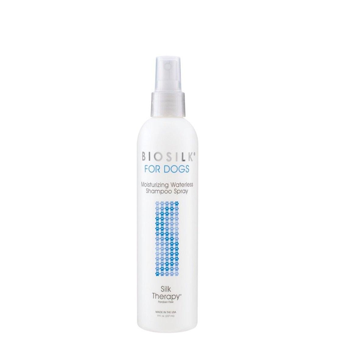 Biosilk Therapy Deep Moisture Waterless Dog Shampoo Spray