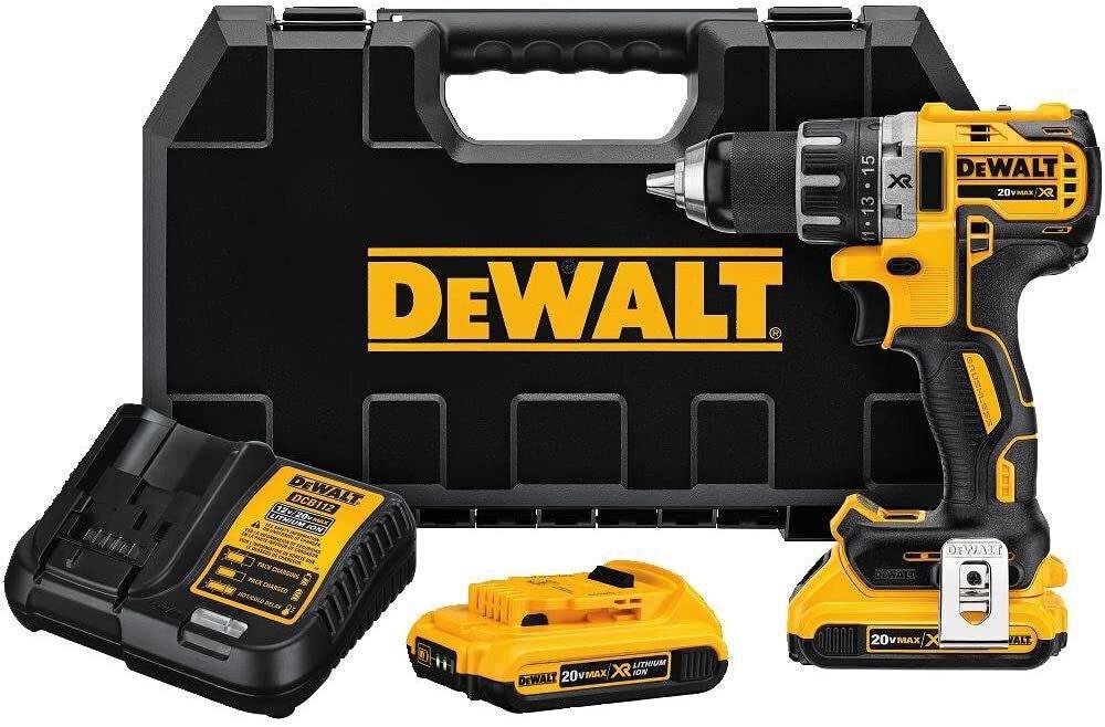 DeWalt Max XR Li-Ion Compact Drill/Driver Kit