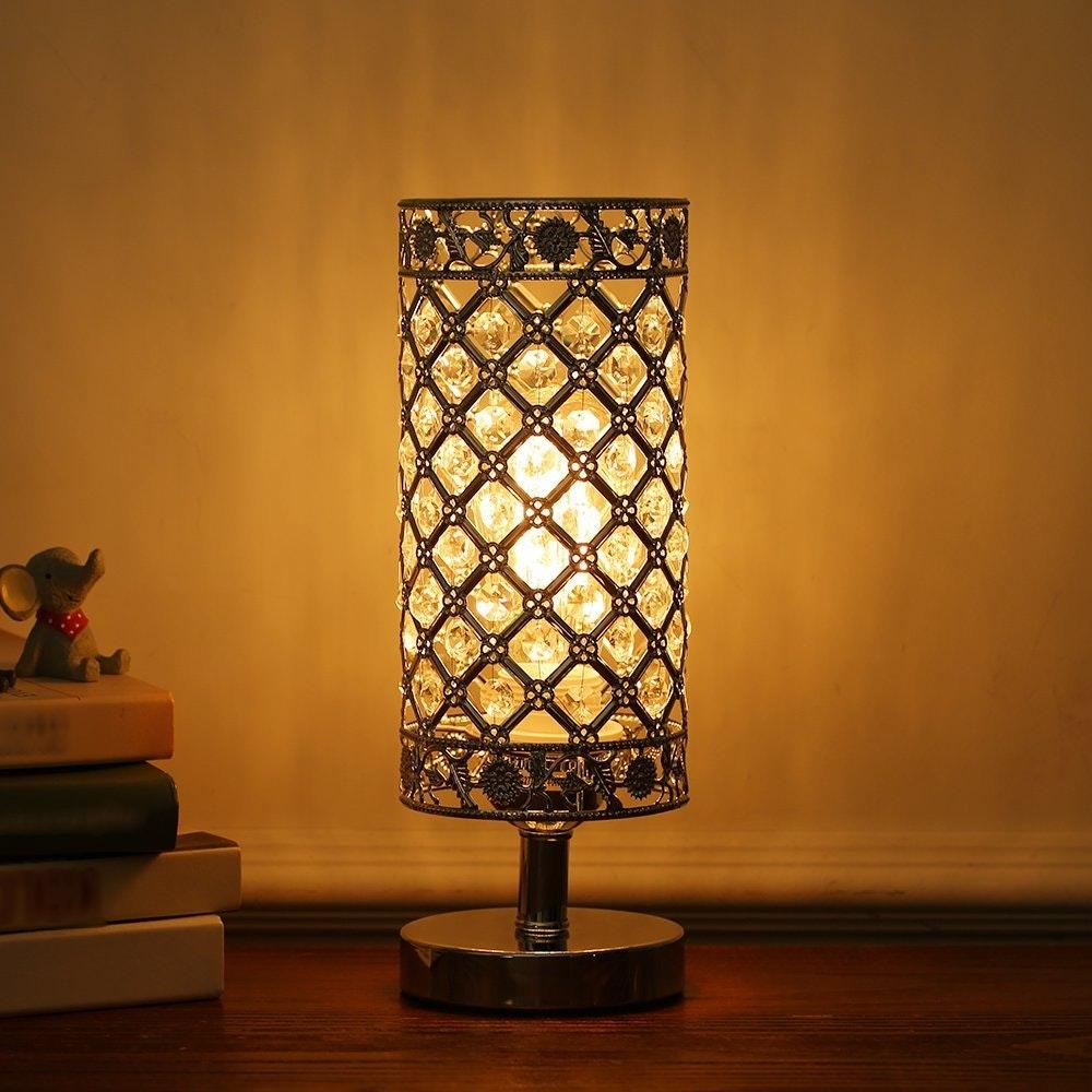 Tomshine Crystal Table Lamp