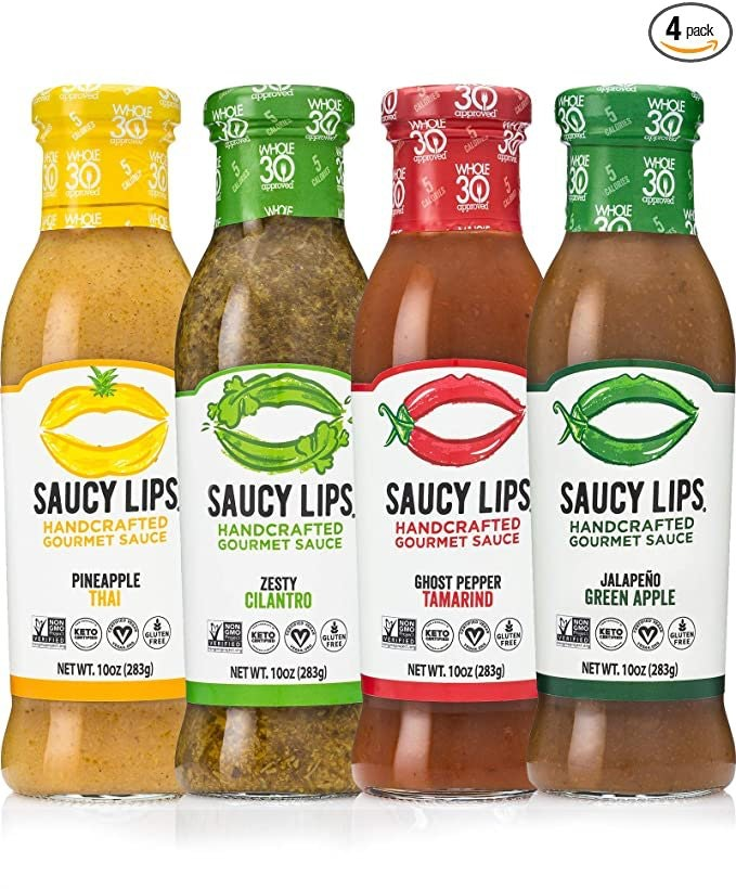 Saucy Lips Hot Sauces