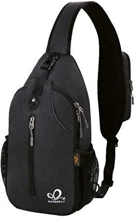 Waterfly Sling Backpack Crossbody Daypack