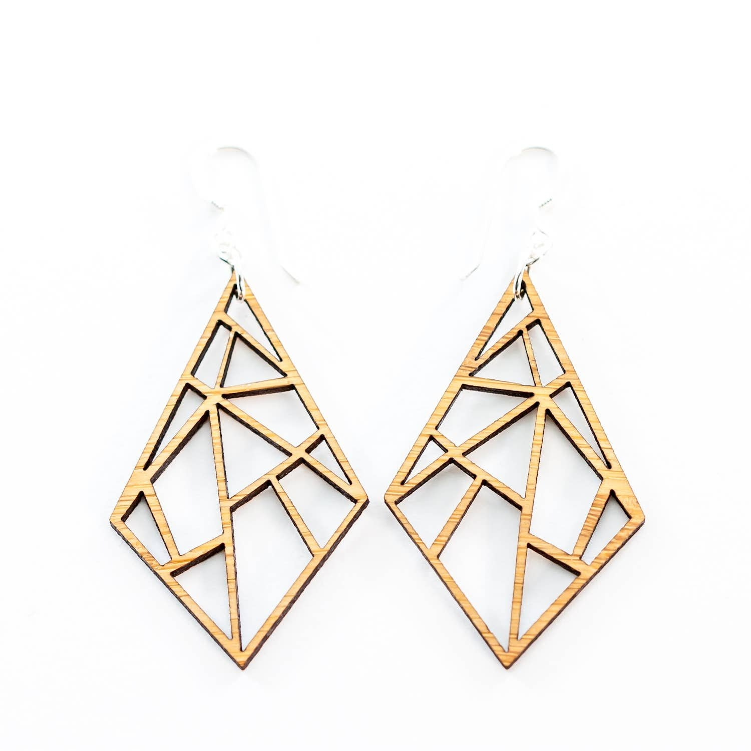 LeeMo Bamboo Diamond Earrings