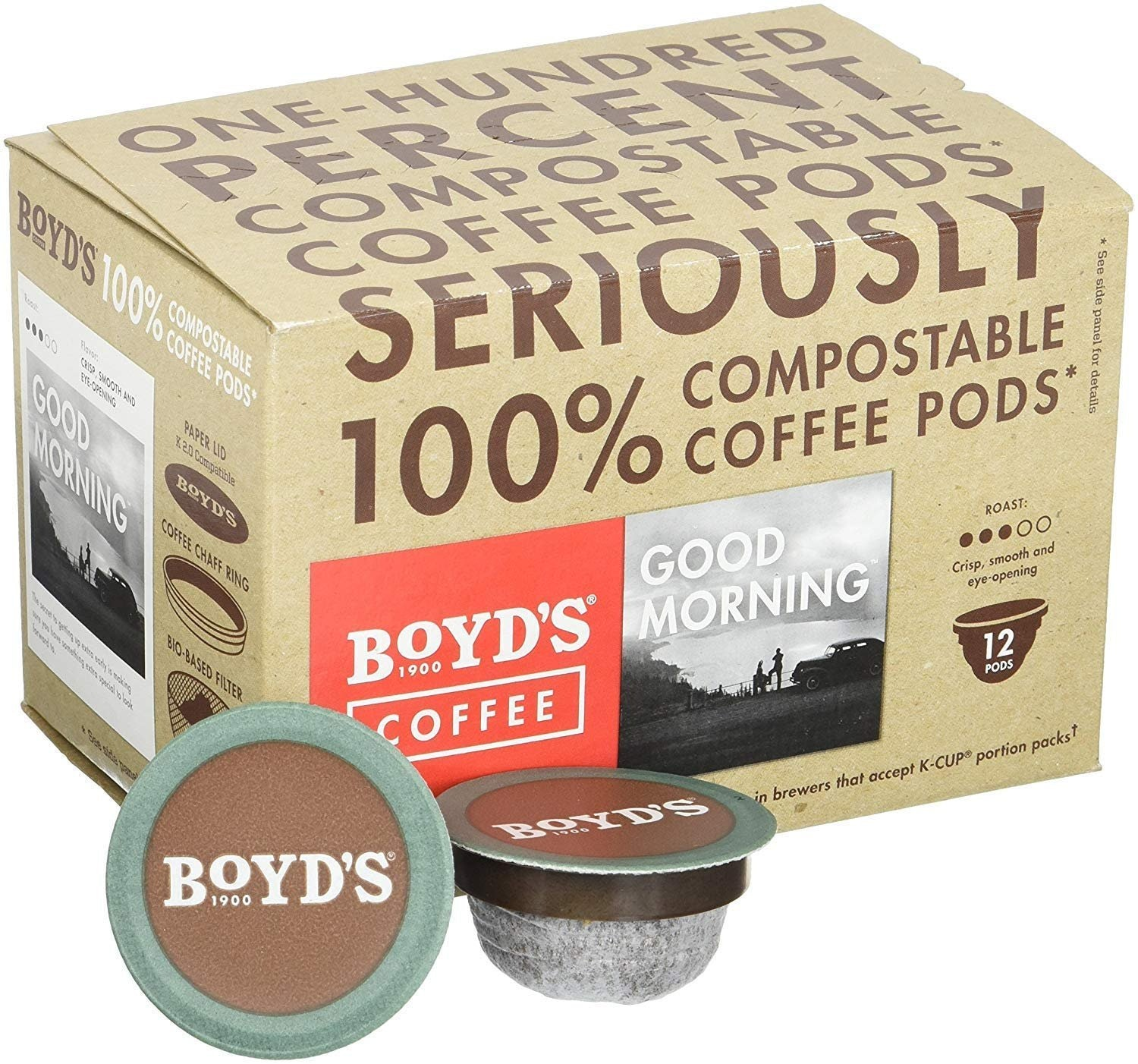 Boyd's Good Morning Coffee - Medium Roast
