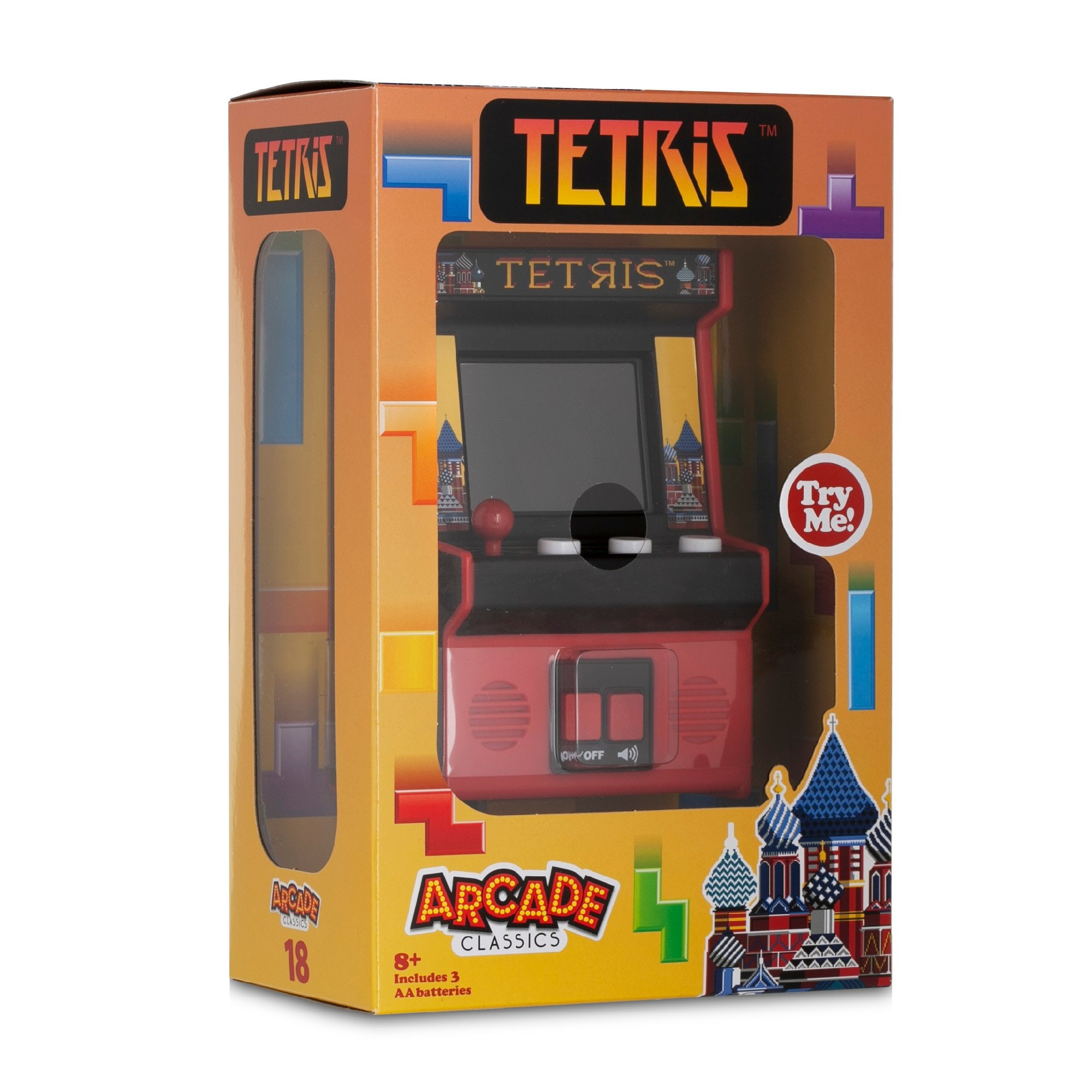 Tetris - Retro Mini Arcade Game