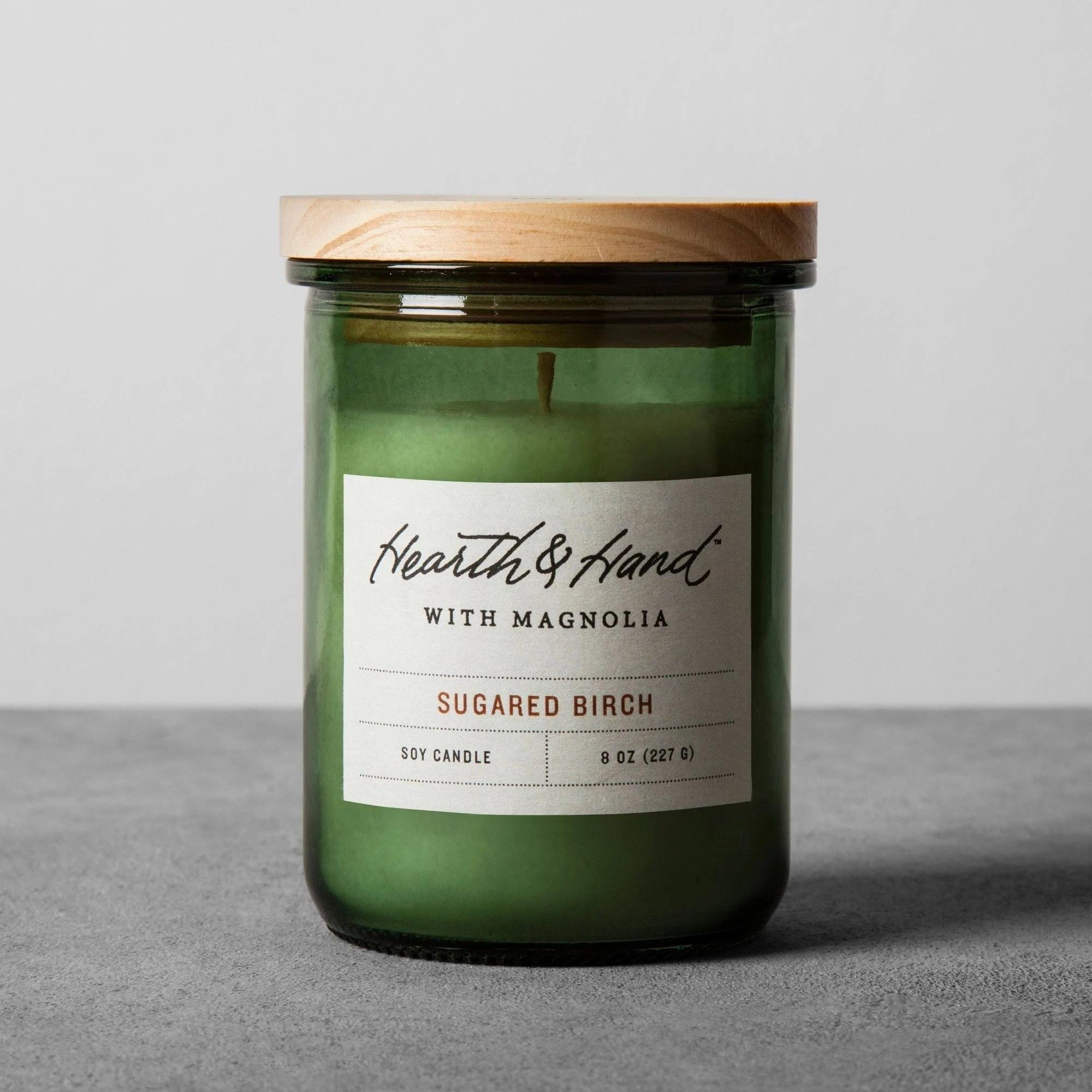 Hearth and Hand Sugared Birch Candle