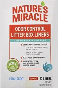 Nature's Miracle Litter Box Fragance liners