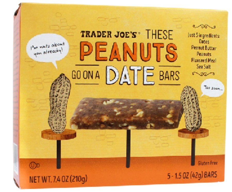 Trader Joe's These Peanuts Go on a Date Bar
