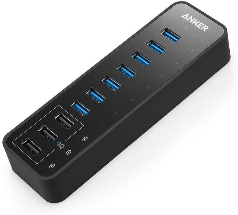 Anker 10-Port 60W USB 3.0 Hub