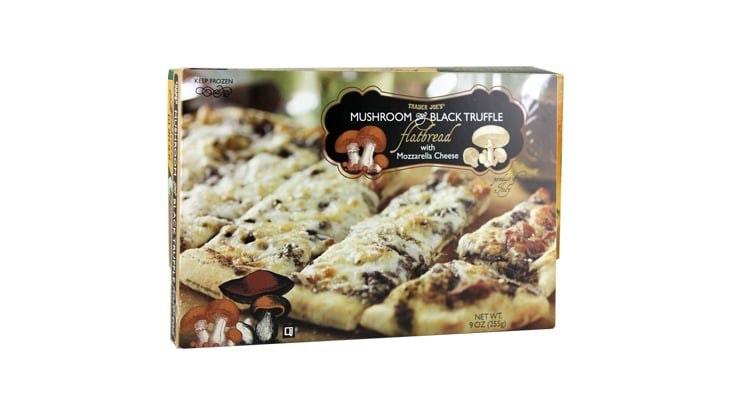 Trader Joes's Mushroom Truffle Flatbread