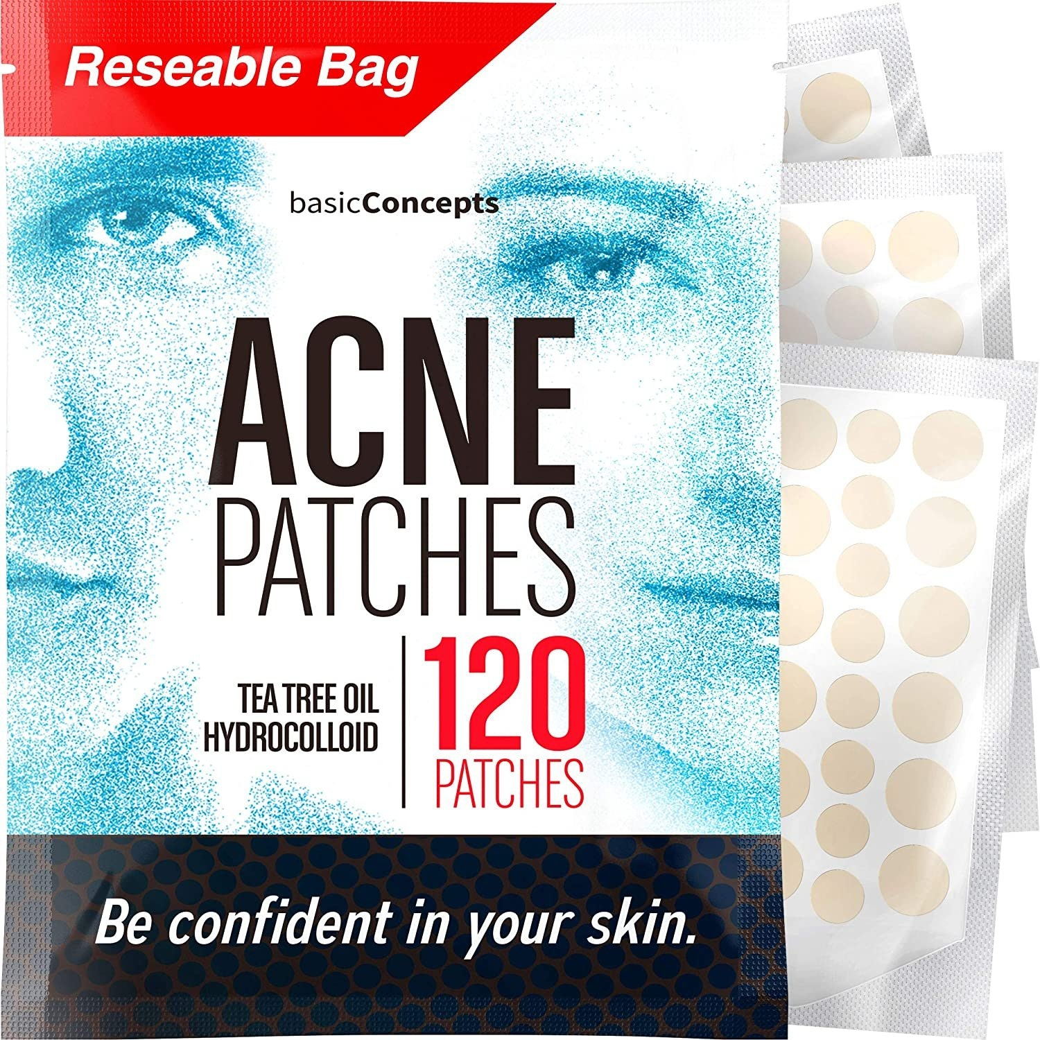 Basic Concepts Acne Patches (120 Pack)