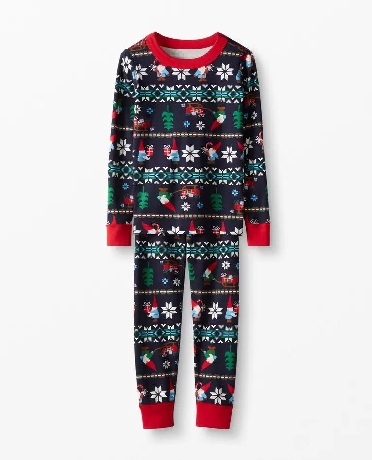 Hannah Anderson Childrens Long John Pajamas