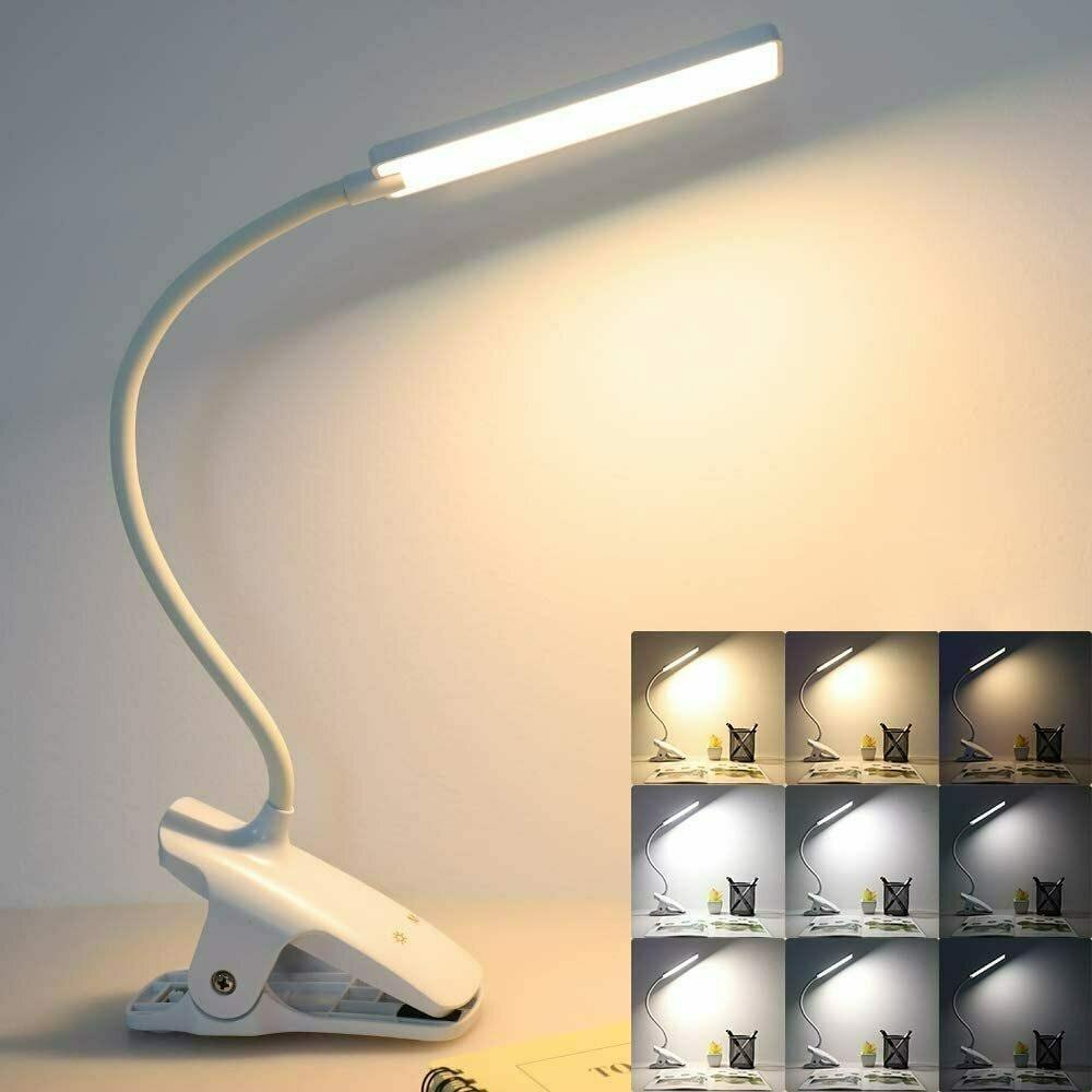 Deaunbr USB Rechargeable Book Lights
