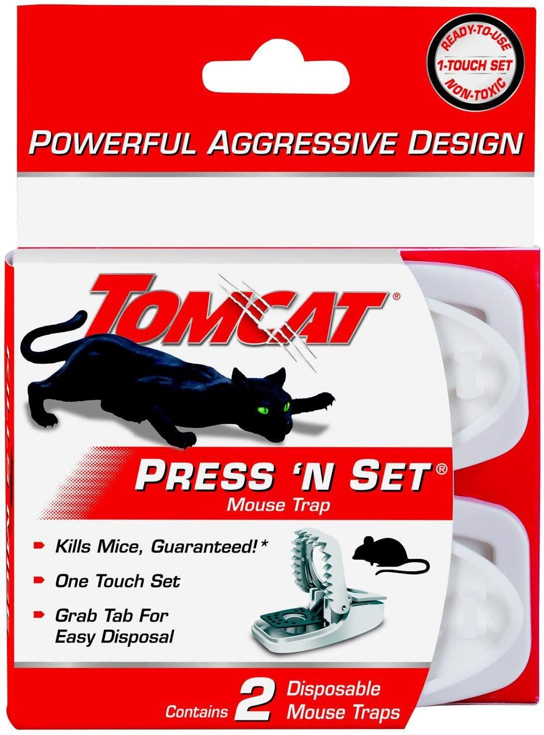 Tomcat Press 'N Set Mouse Trap