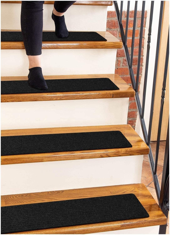 Non-Slip Stair Runners for Wooden Steps