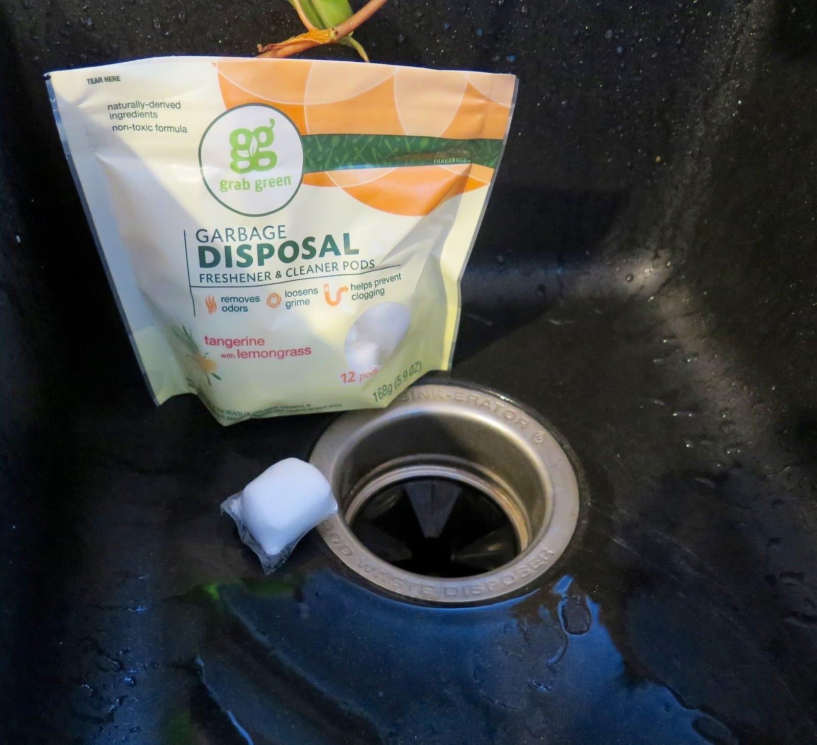 Grab Green Garbage Disposal Freshener