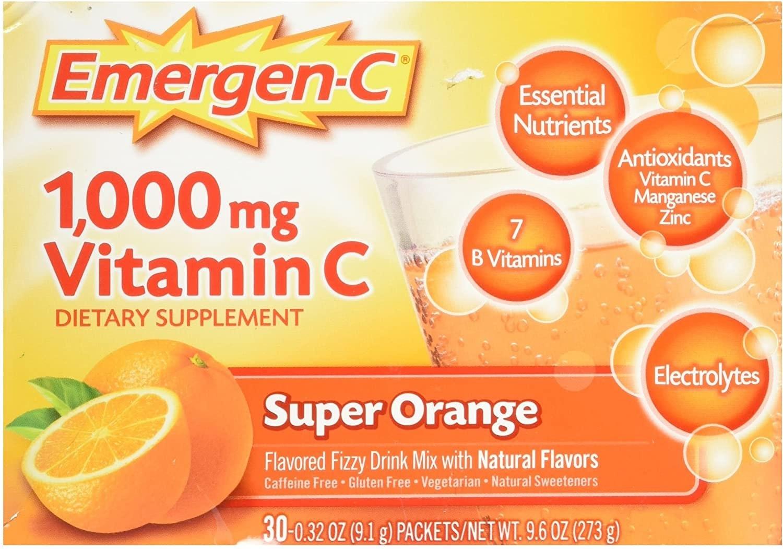 Emergen-C Vitamin C Super Orange
