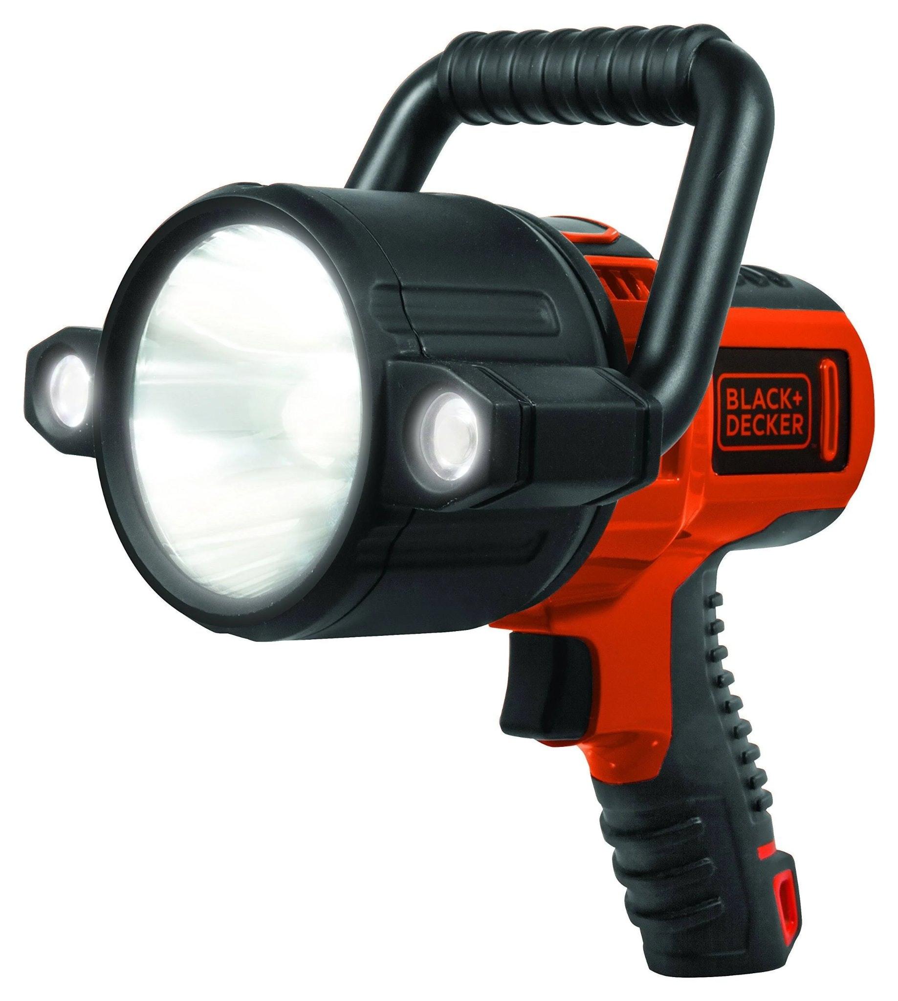 Black & Decker Rechargeable Spotlight