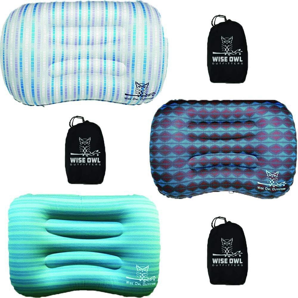 Wise Owl Outfitters Inflatable Camp Pillow
