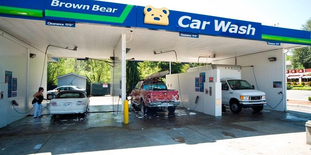 Brown Bear Car Wash - Bellevue