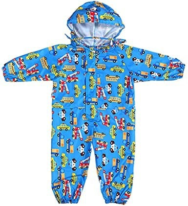 Jiamy Toddler Rain Suit With Hood