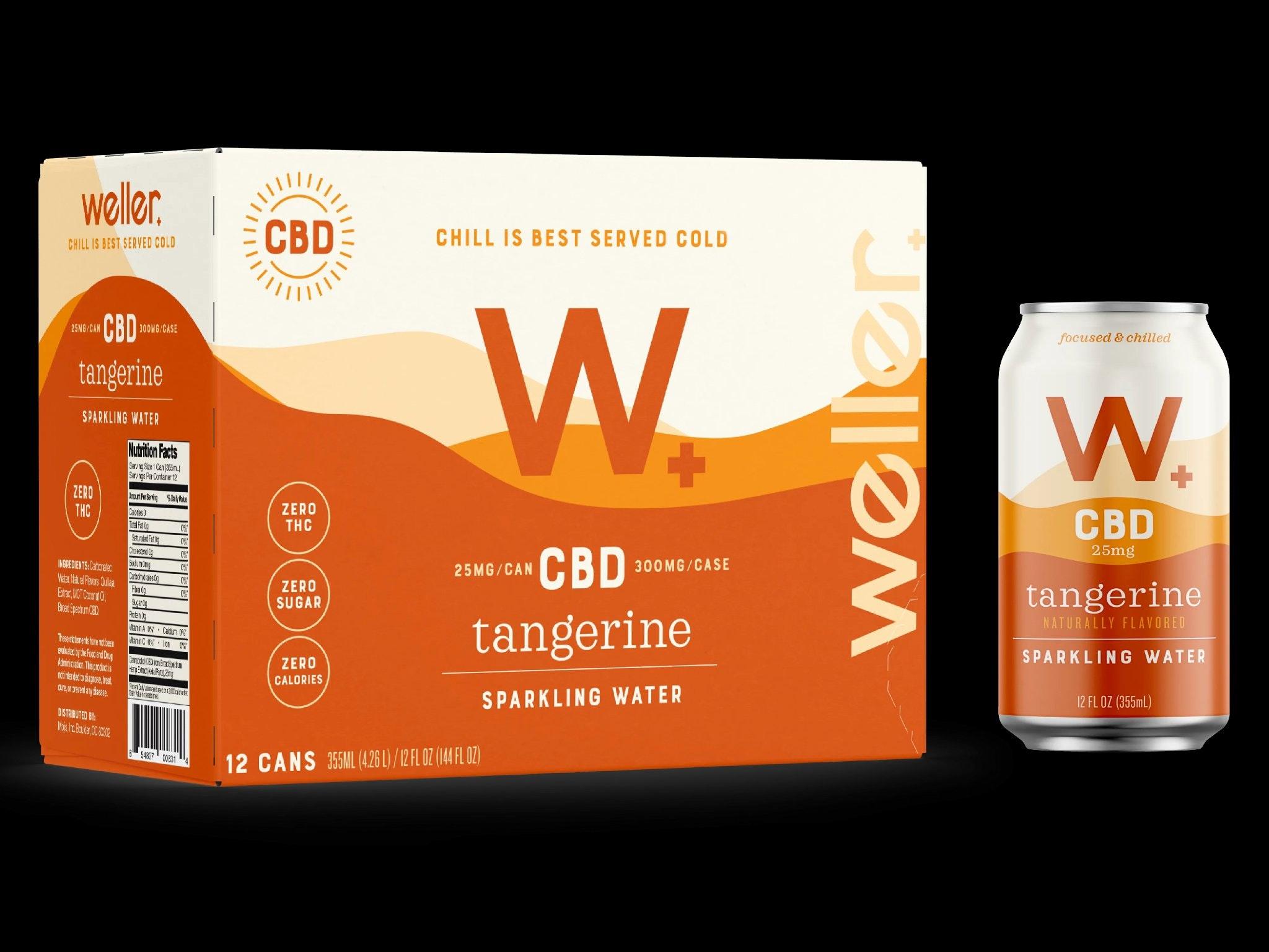 Weller Tangerine Cbd Soda