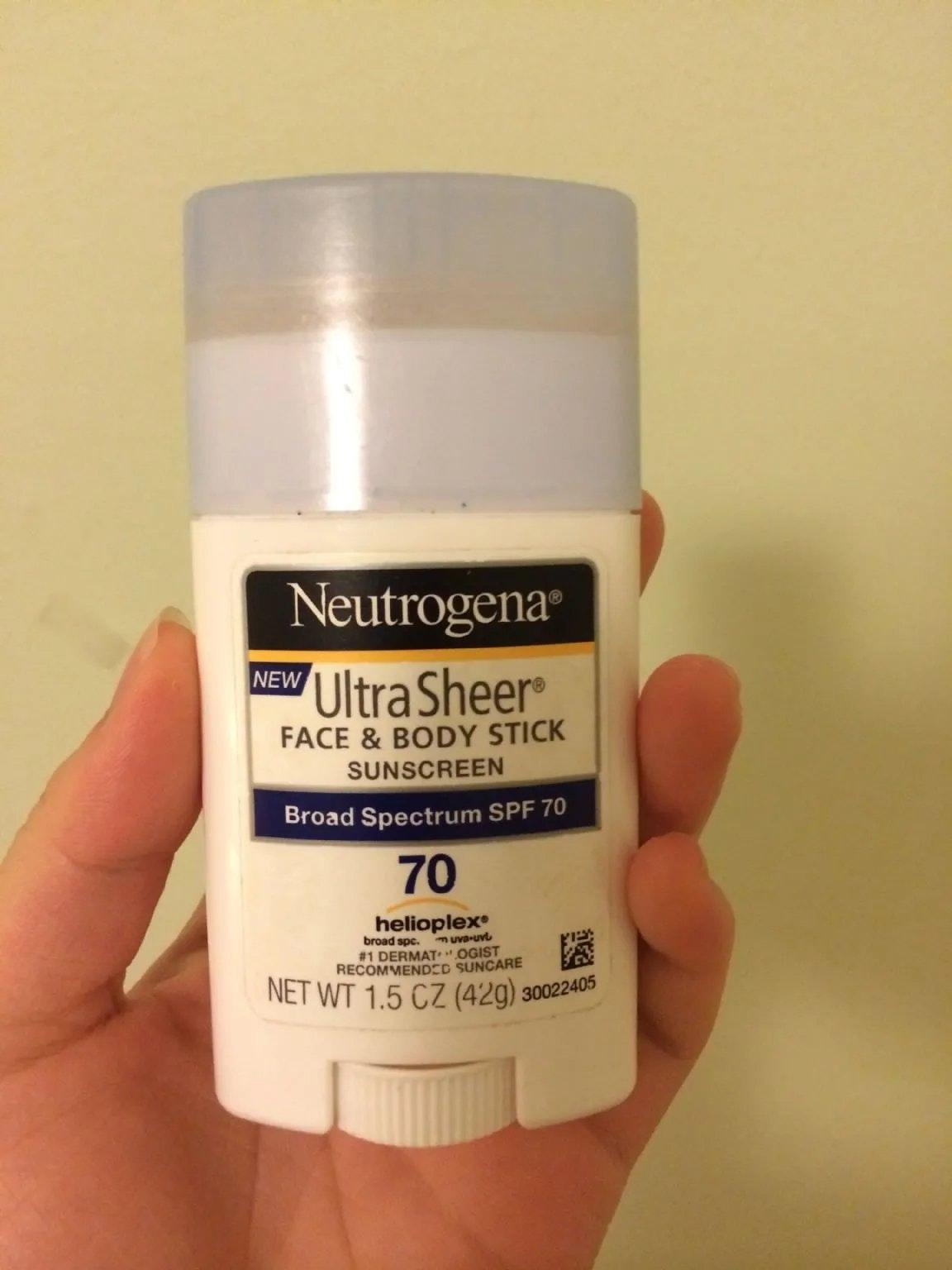 Neutrogena Face and Body Stick Sunscreen
